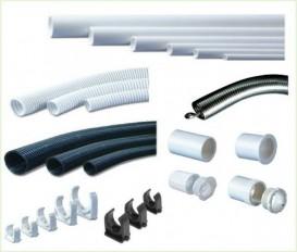 ท่อร้อยสายไฟพีวีซี (PVC)